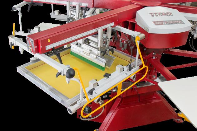 Automatic Screen Printing Press Anatol Titan S