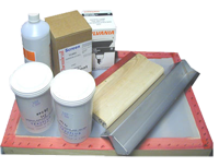 Starter kit for screen printing