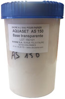 AQUASET WATERBASED INK FOR PAPER/ CORUGATED