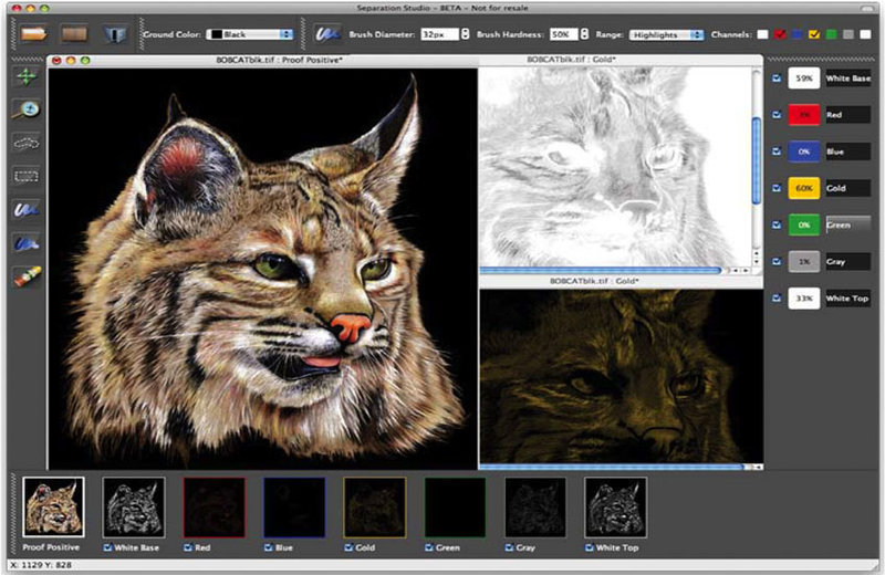 Separation Studio Software For Screen Printing
